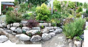 rockery ideas for small gardens the garden inspirations side