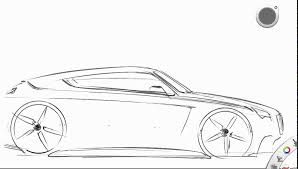 how to draw a car from side view youtube