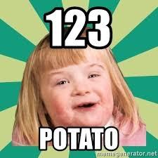 Potato Girl Meme - 123 potato retard girl meme generator
