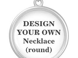 design your own necklace 9 design your necklace items similar to design your own charm