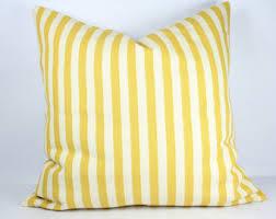 24x24 Decorative Pillows Yellow Throw Pillow Etsy