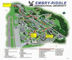 Arizona State University Campus Map by Day One My Embry Riddle College Visit Dayonta Beach Florida