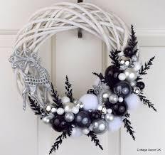 silver christmas wondrous design silver christmas decorations ideas uk ireland