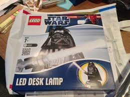 Lego Darth Vader Led Desk Lamp Musing Of An Expressive Ordered And Restless Mind Lego Starwars