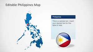 Luzon Map Editable Philippines Map Template For Powerpoint Slidemodel