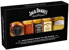 gentleman gift set daniel s whiskey five bottle gift set liquor depot edmonton