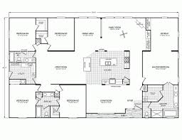Double Wide Homes Floor Plans Double Wide House Trailers Floor Plans House Design Plans Wide