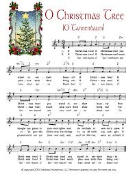 o christmas tree o tannenbaum christmas sheet music printable