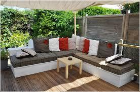 canapé d extérieur pas cher salon d ete pas cher table jardin avec chaise inds