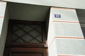 plaque numero rue plaque de rue et de numéro indiquer la ville