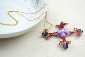 s day pendants s day necklace create wire wrapped cross necklaces for