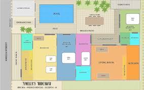 amelia u0027s hideaway 4 bedroom nightly vacation rental