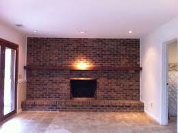 diy brick fireplace fireplace ideas