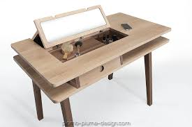 coiffeuse bureau plomb plume design présente la de wewood un bureau coiffeuse