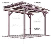 Wood Plans Free Pdf by Free Pergola Plans How To Build A Pergola
