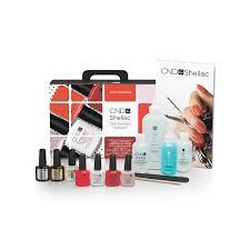 cnd creative nail design shellac chic trial pack cnd creative