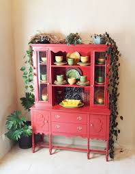 China Cabinet Buffet Hutch by Sideboards Marvellous Red China Cabinet Red Cabinets And Hutches