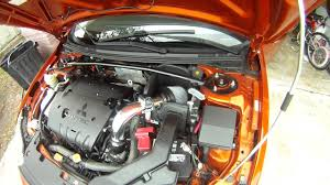 2009 lancer gts 2 4l aftermarket intake takeda youtube