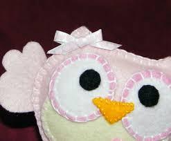 felt owl mobile pattern pregnancy baby child