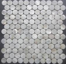 creative round mosaic bathroom tiles for home decor arrangement
