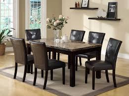 espresso dining room set bruce 5 pc espresso dining set dining furniture room sets