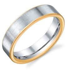 denver wedding band platinum and 18k gold wedding band williams jewelers englewood