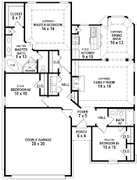ranch floor plans with 3 bedrooms l shaped 3 bedroom house plans l shaped home plans beautiful l