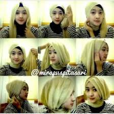 tutorial hijab turban untuk santai tutorial by zahratul jannah hijab pinterest tutorials
