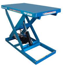 used electric lift table bishamon lift table optimus lk series