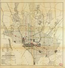 Washington Dc City Map by Historical Map Street Railways City Of Transit Maps