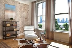 Faux Cowhide Chair Faux Cowhide Rug Bedroom Contemporary Living Room With Beige Rug