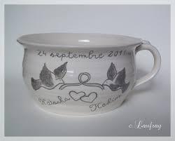 pot de chambre de la pot de chambre personnalisé des mariés peinture et poterie la