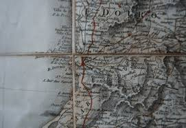 Jasper Johns Map George Iii Period Four Part Military Map Of Spain U0026 Portugal By