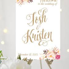 wedding welcome sign template best wedding signs products on wanelo