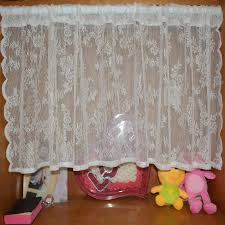 Crochet Kitchen Curtains by Online Get Cheap Lace Kitchen Curtain Aliexpress Com Alibaba Group