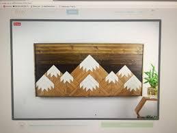 mountain range wooden wall album on imgur
