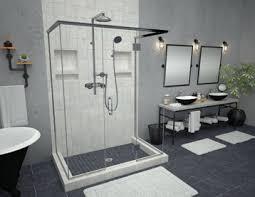 Bathroom Shower Pans Shower Pans Bases Shelves Tile Redi