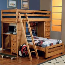amazon com wrangle hill twin over twin loft bed by coaster fine