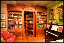 secret hidden bookcase door plans bookcases home design ideas