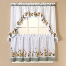 Fancy Kitchen Curtains Sunflower Kitchen Curtains Kenangorgun