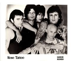 the band rose tattoo fanpage