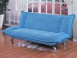 Junior Futon Sofa Bed Blue Futons Roselawnlutheran