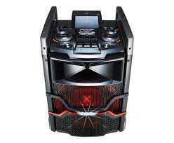 lg home theater models lg om5540 portable x boom audio system with bluetooth and audio dj