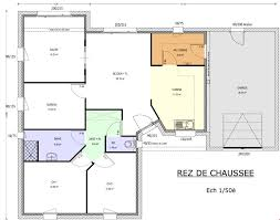 les 3 chambres plan maison 90m2 3 chambres