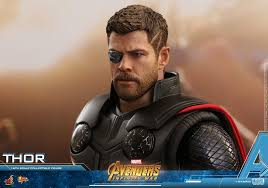 thor is the second revealed avengers infinity war hot toys figure