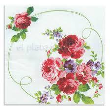 imagenes de rosas vintage servilletas de papel decoradas con rosas vintage para decorar mesas