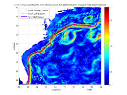 Real Time Maps Charting The Gulf Stream Worlds Revealed Geography U0026 Maps At