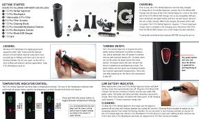 g pro herbal portable vaporizer king pen vapes