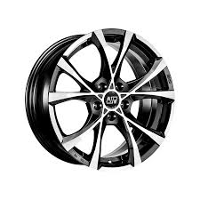 lexus car accessories calicut msw cross over black full polished ozracing msw crossover rim