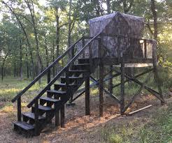 8 u0027x8 u0027 platform for barronet pop up deer blind deer stands